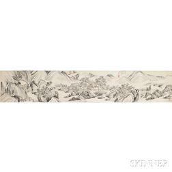 Handscroll Depicting a Landscape
