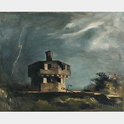 John Fulton Folinsbee (American, 1892-1972)      Fort Edgecomb