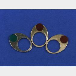 Three Stacking Rings