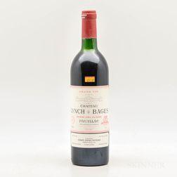 Chateau Lynch Bages 1985, 1 bottle