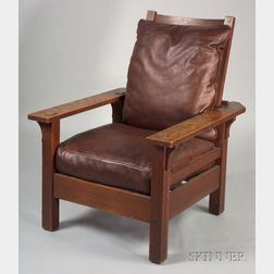 Arts & Crafts Adjustable-back Morris Chair