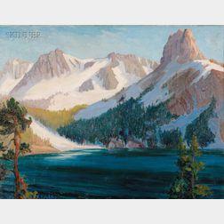 Kathryn Woodman Leighton (American, 1875-1952)      The High Scierras
