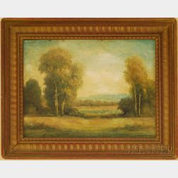 Howard Atkinson (American, 20th Century)      Landscape View.