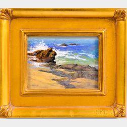 Billyo O'Donnell (American, b. 1956)    Laguna Rocks