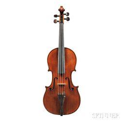 French Violin, Auguste Delivet, Toronto, 1924