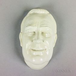 Minton Ceramic Mask of FDR