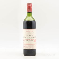Chateau Lynch Bages 1982, 1 bottle