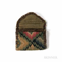 Small Flame-stitch Coin Purse