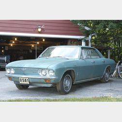1966 Chevrolet Corvair, VIN # 105396W182420