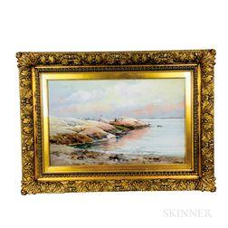 Edward D. Everett (American, 1818-1900)    Coastal Inlet