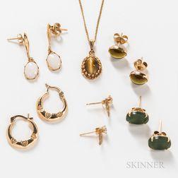 Group of Gem-set Jewelry