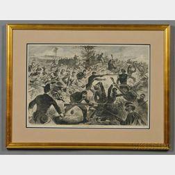 Winslow Homer Print A Bayonet Charge