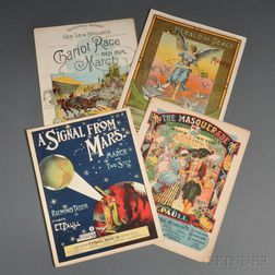 Collection of Mostly E.T. Paull Late 19th and Early 20th Century Sheet Music