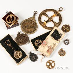 Eleven 20th Century Astrolabes