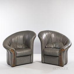 Two Paolo Portoghesi (Italian, 1931) for Mirabili Arte d'Abitare Elica Chairs