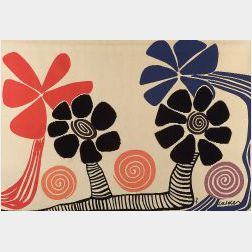 After Alexander Calder (American, 1898-1976)  Les Palms