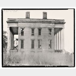 Walker Evans (American, 1903-1975)      Two Different Views: Abandoned Anti-Bellum Plantation House, Vicksburg,   Mississippi