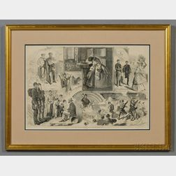 Winslow Homer Print News from the War