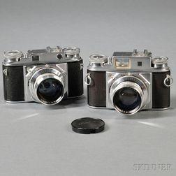 Voigtlander Prominent I & II Rangefinder Cameras
