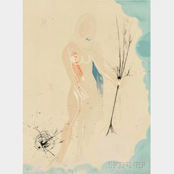 Salvador Dalí (Spanish, 1904-1989)      Virgo