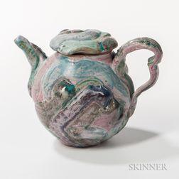 Makoto Yabe (1947-2005) Studio Pottery Teapot