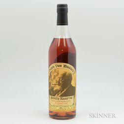 Pappy Van Winkle Family Reserve 15 Years Old, 1 750ml bottle