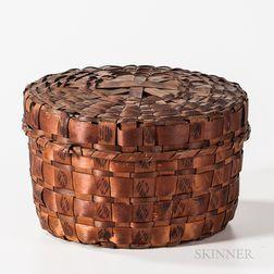Northeast Lidded Basket