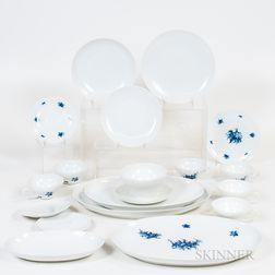 Rosenthal Porcelain Dinner Service for Eight.     Estimate $200-400
