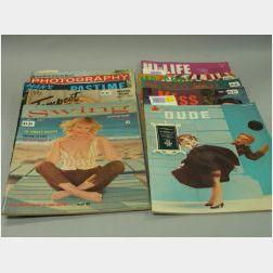 Eleven 1950-1960 Men's Magazines
