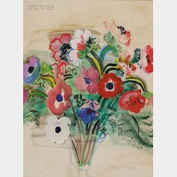 Raoul Dufy (French, 1877-1953)      Anemones