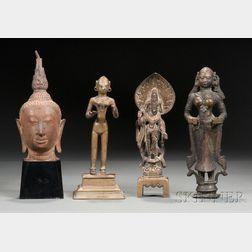 Four Bronze Images