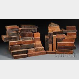 Collection of Hardwood Turning Blanks