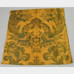 Pair of Fortuny Block-printed Cotton Drapery Panels