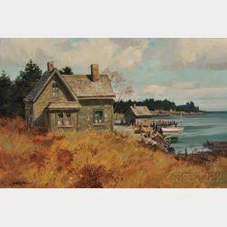 Paul Strisik (American, 1918-1998)      North East Cove