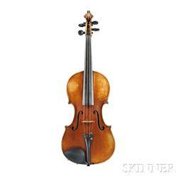 Modern American Violin, G.W. Ericksen, Oakland, California, 1902
