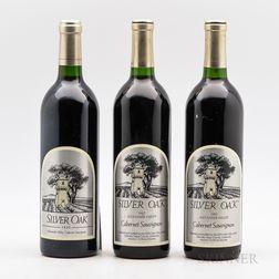 Silver Oak Cabernet Sauvignon Alexander Valley, 3 bottles