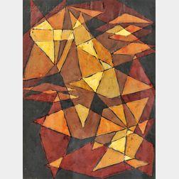 Garabed Der Hohannesian (American, 1908-1992)      Crystal Forms