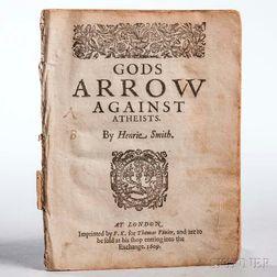 Smith, Henrie (1550?-1591) Gods Arrow Against Atheists.