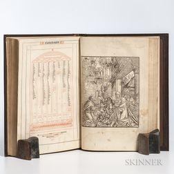 Bible, Latin. Textus Biblie.