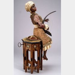 Gustave Vichy Automaton of a Moresque Harpist