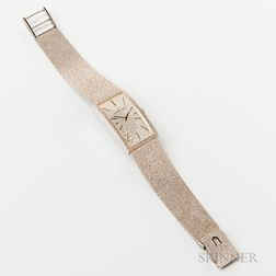 Universal 14kt White Gold Lady's Wristwatch