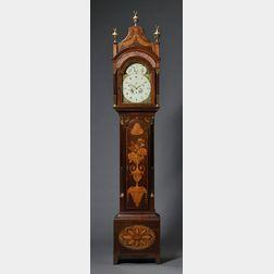 Daniel de St. Leu Musical Mahogany Longcase Clock for the Turkish Market