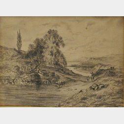 English School, 19th/20th Century    Devonshire Landscape