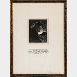 Cheffetz, Asa (1897-1965) Poe (a Study)