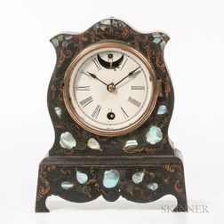 Cast Iron Terry, Downs, and Burwell Mantel Clock