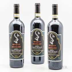 Soldera (Case Basse) Brunello di Montalcino Riserva 2006, 3 bottles