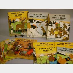 Fifteen Children's Pictorial Paperback Books