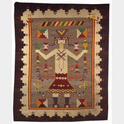 Southwest Single Figure Yei Weaving