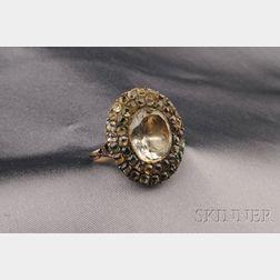 Antique Topaz Ring, France