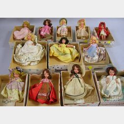 Ten Storybook, Hollywood and Other Dolls